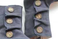 Marchita Boot Navy Suede 6