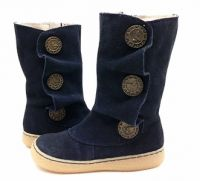 Marchita Boot Navy Suede 9